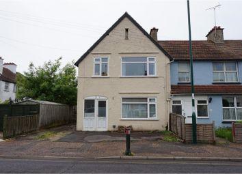 Thumbnail 3 bed end terrace house for sale in Longford Road, Bognor Regis