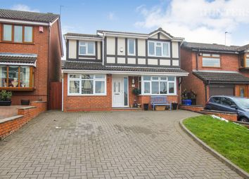 Thumbnail 4 bed detached house for sale in Appledore Grove, Stoke-On-Trent, Packmoor