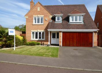 Thumbnail 4 bedroom detached house to rent in Indmere Close, Northampton