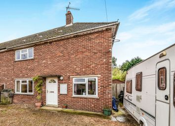 Thumbnail 3 bedroom semi-detached house for sale in Chalk Road, Walpole St. Peter, Wisbech