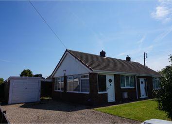 Thumbnail 3 bed detached bungalow for sale in James Avenue, Mablethorpe