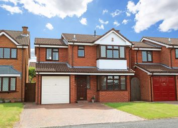 Thumbnail 4 bedroom detached house for sale in Elderberry Close, The Rock, Telford