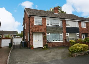 Thumbnail 3 bed semi-detached house for sale in Crantock Drive, Heald Green, Cheadle