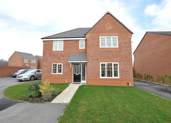 Thumbnail 4 bed detached house for sale in Snowdrop Grove, Warton, Preston, Lancashire