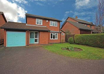 Thumbnail 3 bed detached house for sale in Rose Acre Close, Scraptoft, Leicester, Leicestershire