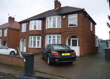 Thumbnail 3 bed semi-detached house for sale in Glenborne Road, Leicester