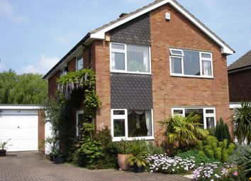 Thumbnail 4 bed detached house to rent in Brackendale Grove, Harpenden