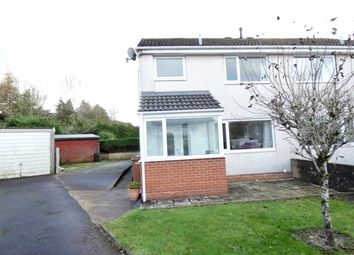 Thumbnail 3 bed semi-detached house for sale in Norbeck Park, Cleator Moor, Cumbria