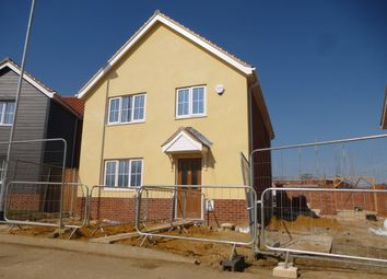 Thumbnail 4 bed detached house for sale in Blackthorn Road, Wymondham