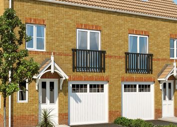 "Thumbnail 3 bed town house for sale in ""The Aberford "" at Doncaster Road, Goldthorpe, Rotherham"