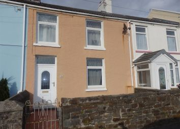 Thumbnail 3 bed terraced house for sale in Seaview Terrace, Burry Port