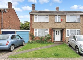 Thumbnail 3 bed semi-detached house for sale in Grasmere Grove, Frindsbury, Kent