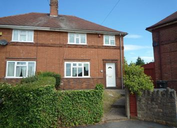 Thumbnail 4 bed semi-detached house for sale in Boundary Crescent, Beeston, Nottingham