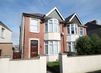 Thumbnail 4 bed semi-detached house for sale in Ladysmith Road, Plymouth