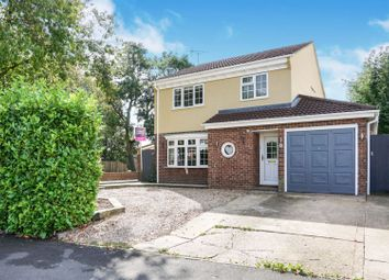 Thumbnail 4 bed detached house for sale in Crowson Way, Peterborough