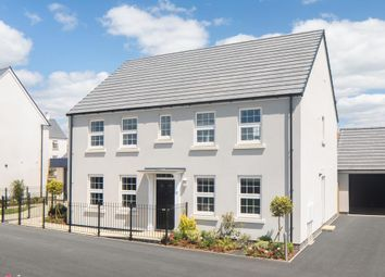 "Thumbnail 4 bed detached house for sale in ""Chelworth"" at Redmoor Close, Tavistock"