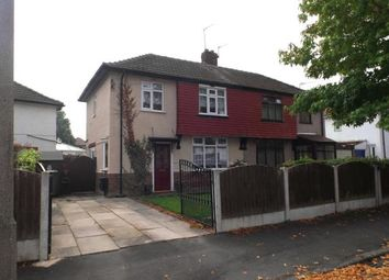 Thumbnail 3 bed semi-detached house for sale in Hastings Drive, Urmston, Manchester, Greater Manchester