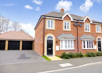 Thumbnail 3 bed semi-detached house to rent in Culverhouse Road, Swindon, Wiltshire