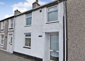 Thumbnail 2 bedroom terraced house for sale in Water Street, Carneddi, Bethesda, Bangor