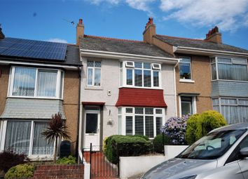 Thumbnail 3 bed terraced house for sale in Sturdee Road, Stoke, Plymouth