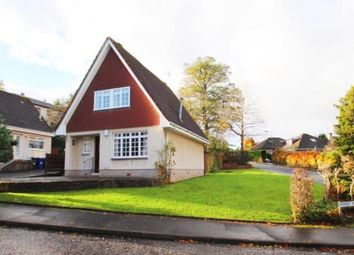 Thumbnail 3 bed detached house for sale in Crosbie Woods, Paisley, Renfrewshire