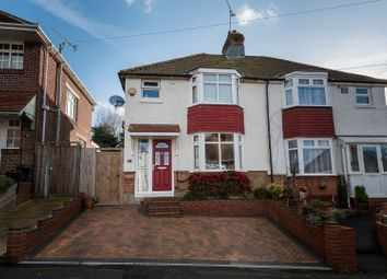 Thumbnail 3 bed semi-detached house for sale in Norwich Road, Southampton