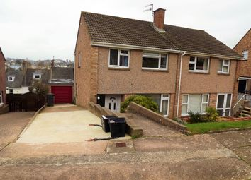 Thumbnail 3 bed semi-detached house to rent in Pilmuir Avenue, Chelston, Torquay
