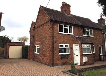 Thumbnail 2 bed semi-detached house to rent in Middle Lane, Whitacre Heath, West Midlands