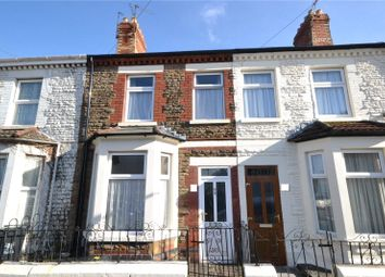 Thumbnail 3 bed terraced house for sale in Cottrell Road, Roath, Cardiff