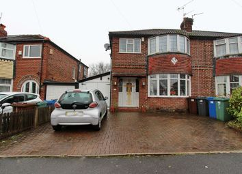 Thumbnail 3 bed semi-detached house for sale in Hill Top Avenue, Prestwich, Manchester