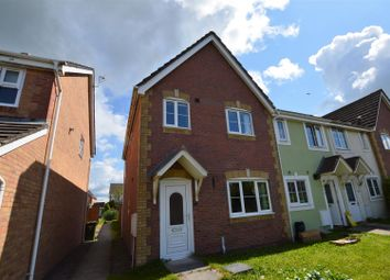 Thumbnail 3 bed end terrace house for sale in Cynllan Avenue, Llanharan, Pontyclun