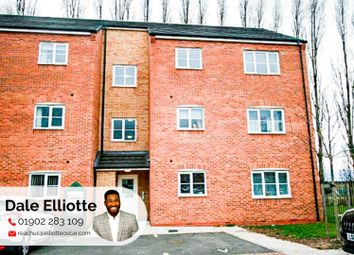 Thumbnail 2 bed flat for sale in Pitchwood Close, Darlaston, Wednesbury