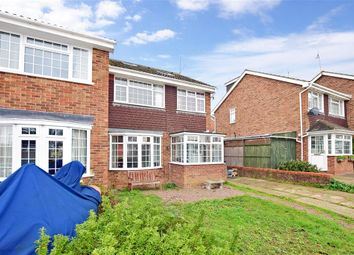 Thumbnail 5 bed semi-detached house for sale in Nightingale Avenue, Whitstable, Kent