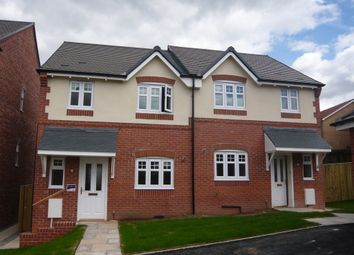 Thumbnail 2 bed semi-detached house to rent in Bracken Way, Harworth, Doncaster