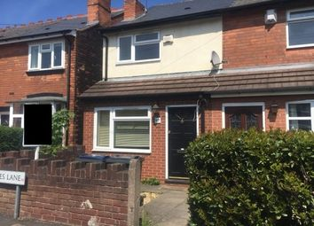 Thumbnail 2 bed property to rent in Coles Lane, Sutton Coldfield