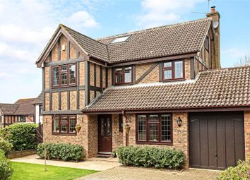 Thumbnail 5 bed detached house for sale in Fox Dene, Godalming, Surrey