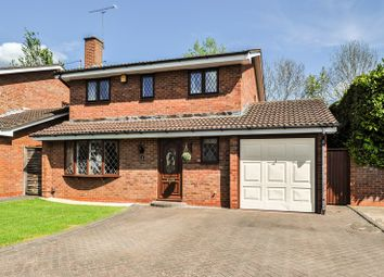 Thumbnail 4 bed detached house for sale in Hartlebury Close, Church Hill North, Redditch
