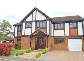 Thumbnail 5 bed detached house for sale in Kestrel Way, Buckingham