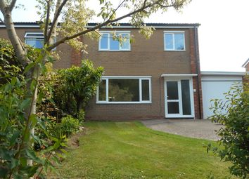 Thumbnail 3 bed semi-detached house to rent in Malvern Close, Shrewsbury