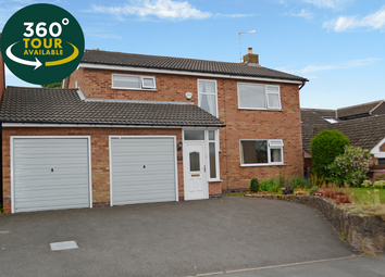 Thumbnail 4 bed detached house for sale in Grange Lane, Thurnby, Leicester