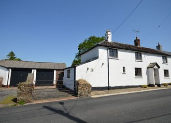 Thumbnail 3 bed semi-detached house for sale in Station Road, Northlew, Okehampton