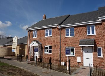 Thumbnail 3 bed terraced house for sale in Walker Gardens, Wrentham, Beccles