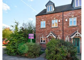 Thumbnail 3 bed town house for sale in Lowedges Close, Sheffield