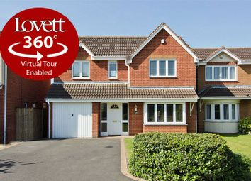 Thumbnail 4 bed detached house for sale in Brownhills Road, Norton Canes, Cannock