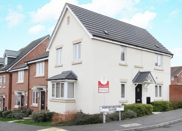 Thumbnail 3 bed end terrace house for sale in Horse Chestnut Close, Chesterfield, Derbyshire
