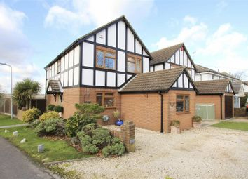 Thumbnail 3 bed detached house for sale in Belfry Avenue, Harefield