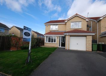 Thumbnail 4 bed detached house for sale in Wetherby Close, Ashington