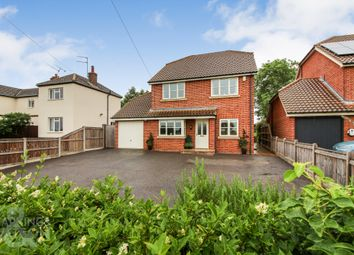 Thumbnail 4 bed detached house for sale in Long Lane, Strumpshaw, Norwich (Just Outside Brundall)