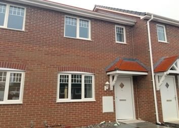 Thumbnail 2 bed terraced house to rent in Garden Village, Saltney, Chester