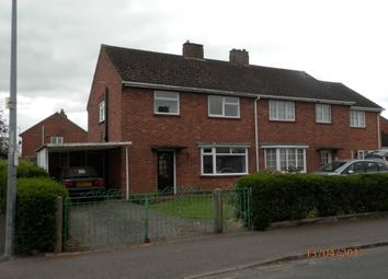 Thumbnail 3 bedroom semi-detached house to rent in The Crescent, St. Neots
